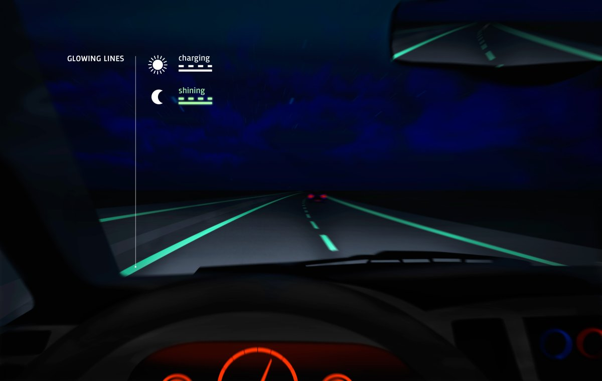 The first-ever glow-in-the-dark highway will be tested in the Netherlands at the end of April.