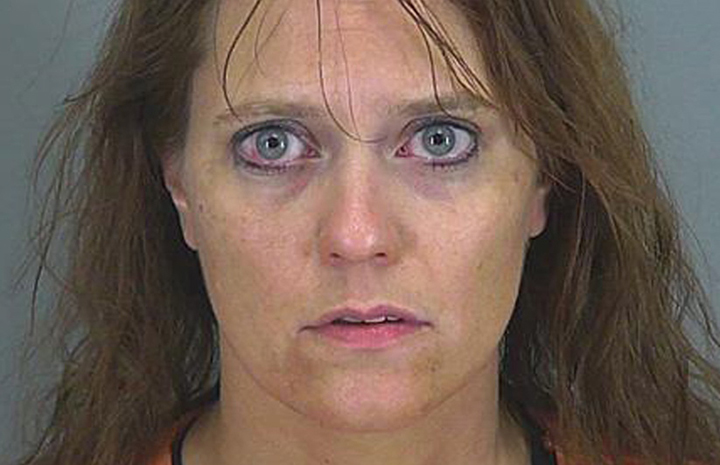 This undated photo provided by the Spartanburg County Prosecutor's office shows Stephanie Greene. Greene, 39, faces 20 years to life in prison when she is sentenced for killing her 6-week-old daughter with what prosecutors say was an overdose of morphine delivered through her breast milk.
