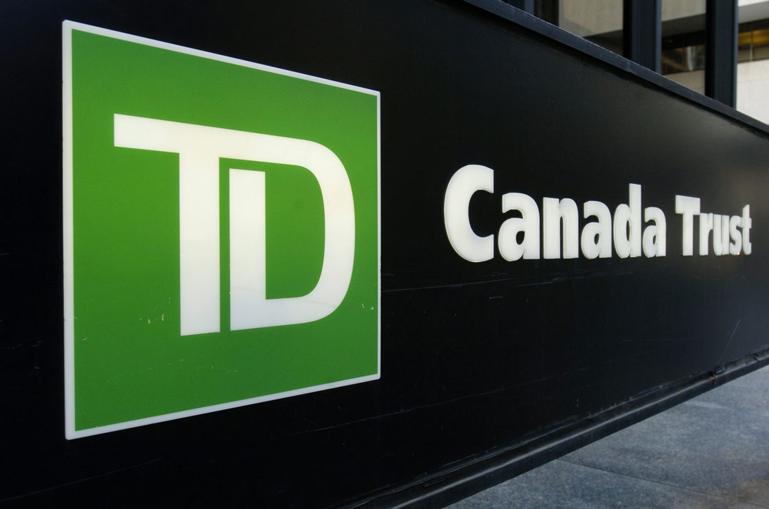 """A TD spokesperson said Wednesday the bank was adding additional """"layered security"""" so customers can conduct their banking securely and without their data being at risk."""