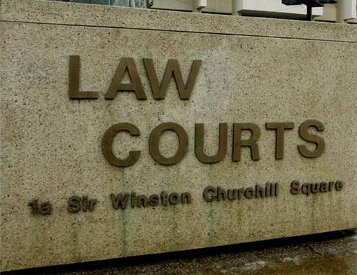 The Law Courts in Edmonton, Alberta.