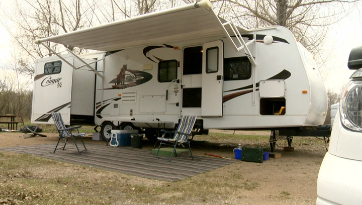 Saskatchewan provincial parks open for the season on Thursday but leave the booze at home for the May long weekend.
