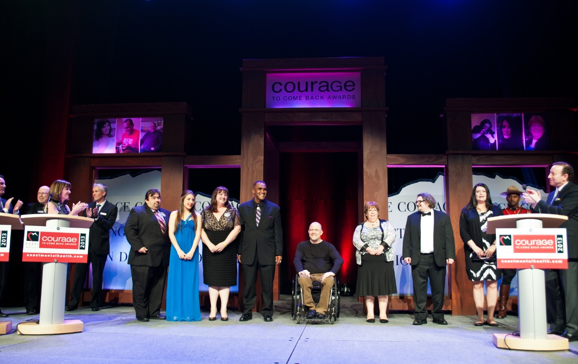 Last year's Courage To Come Back Awards Gala.