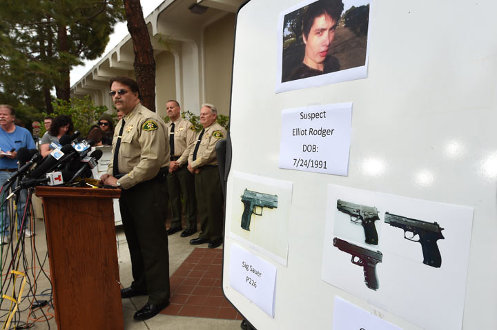 Elliot Rodger suspected guns