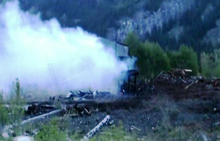 Malakwa mill fire - image