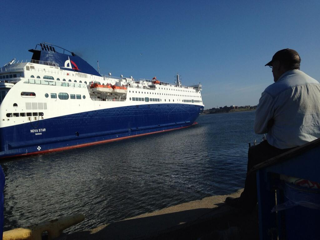 The Nova Star ferry provided service from Maine to Yarmouth for two seasons.