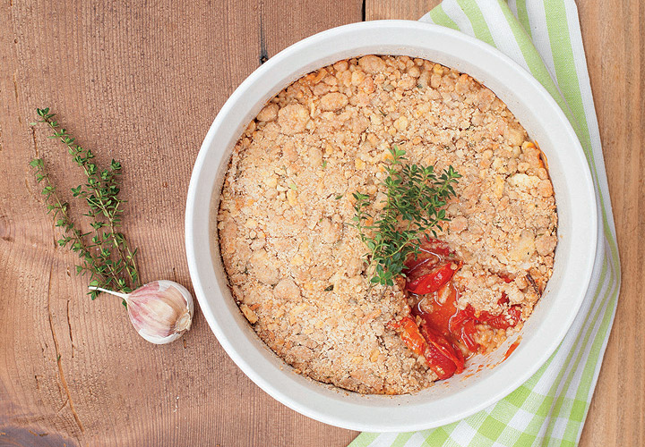 Recipe: Roasted Tomato Cobbler With Thyme