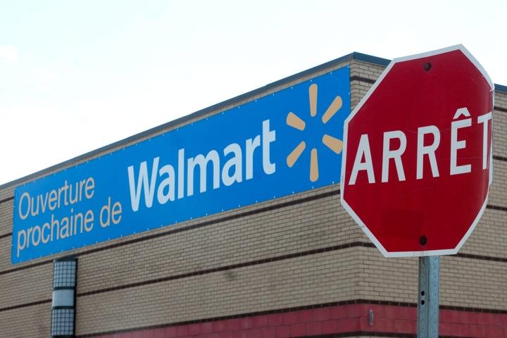 Walmart in Montreal