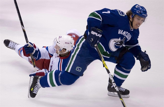 David Booth played for the Canucks until 2014.