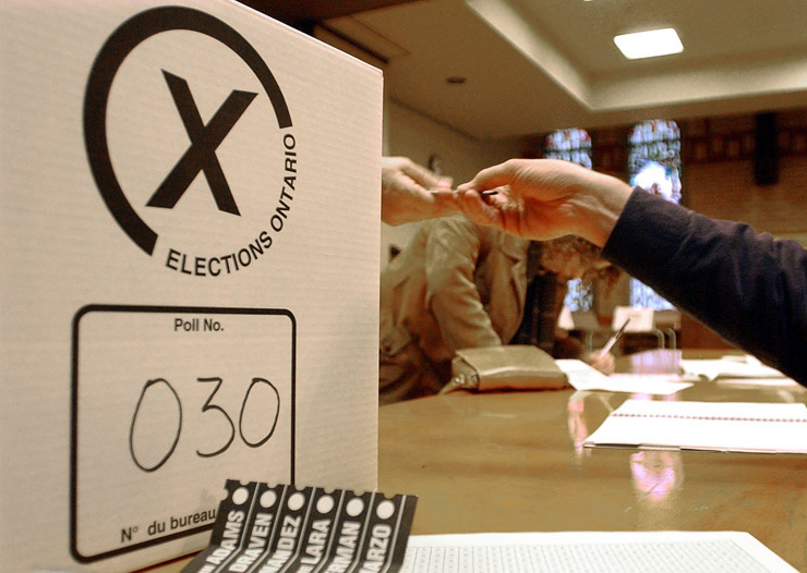 Initiatives in two major Ontario cities are calling for ranked balloting.