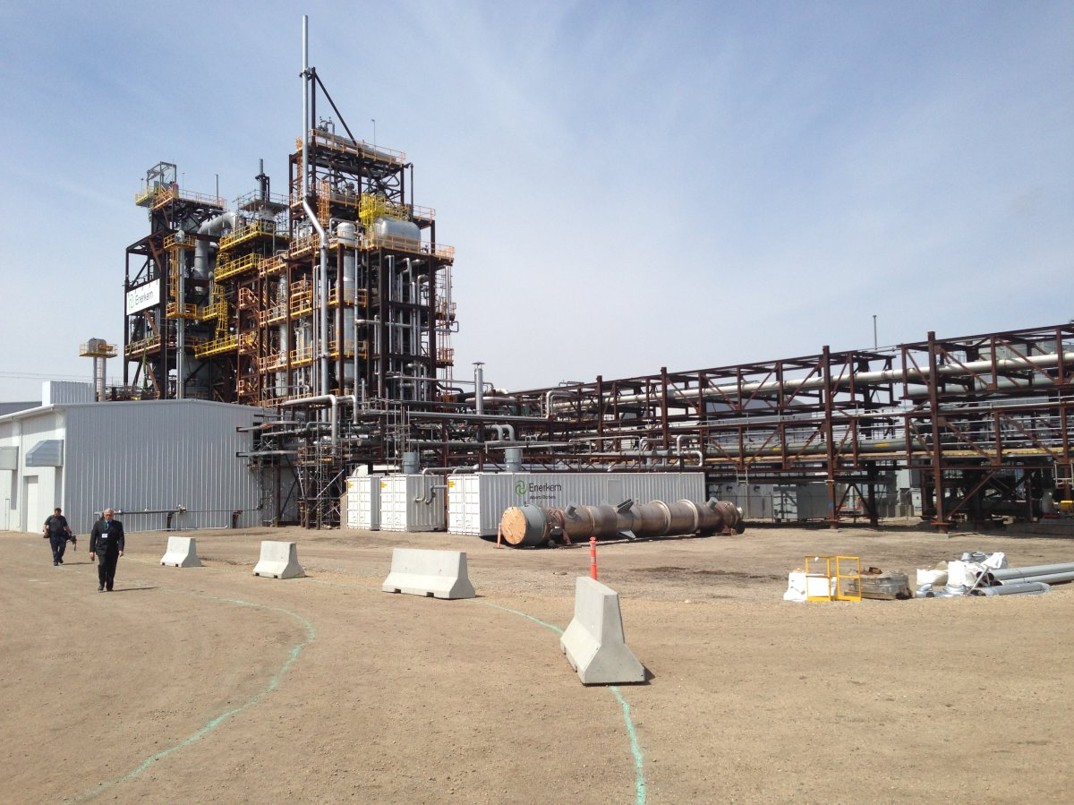 Enerkem's Waste-to-Biofuels and Chemicals Facility, located at the Edmonton Waste Management Centre. June 4, 2014.