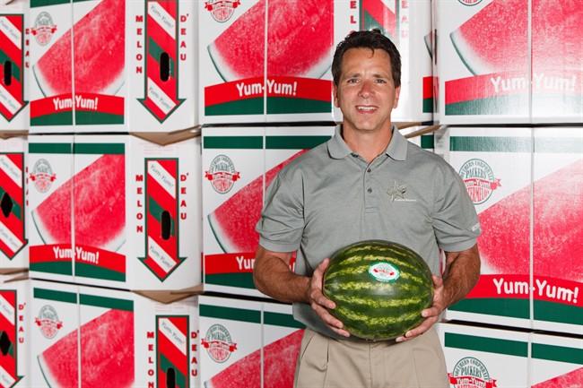 Watermelon producer Brian Arrigo is shown in an undated photo.