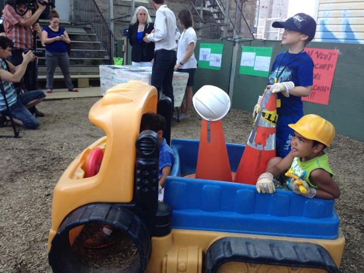 Children at CPE Lafontaine.