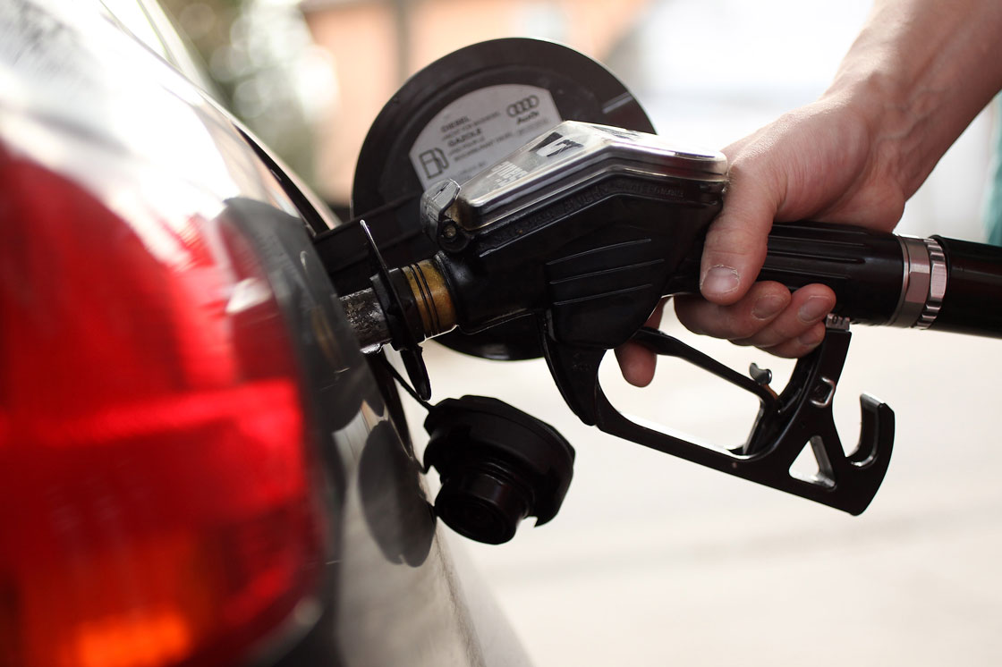 Gas prices were 27 per cent lower last month compared to January 2014.