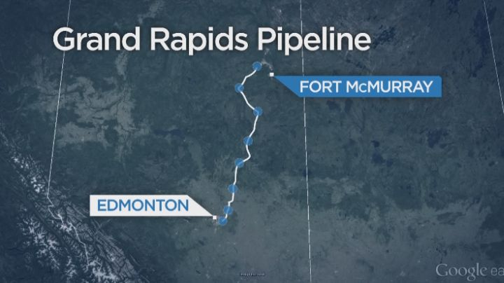 The Athabasca Chipewyan First Nation says it has filed the next step in a legal action originally begun in 2015 against the Grand Rapids pipeline.