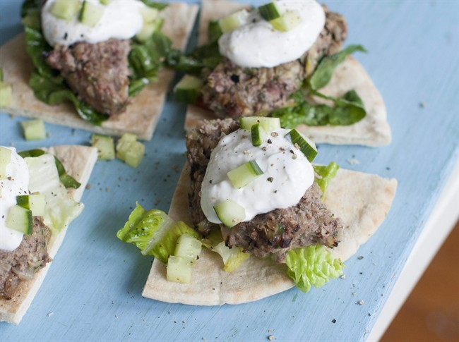 Making lamb a little leaner for a healthier burger