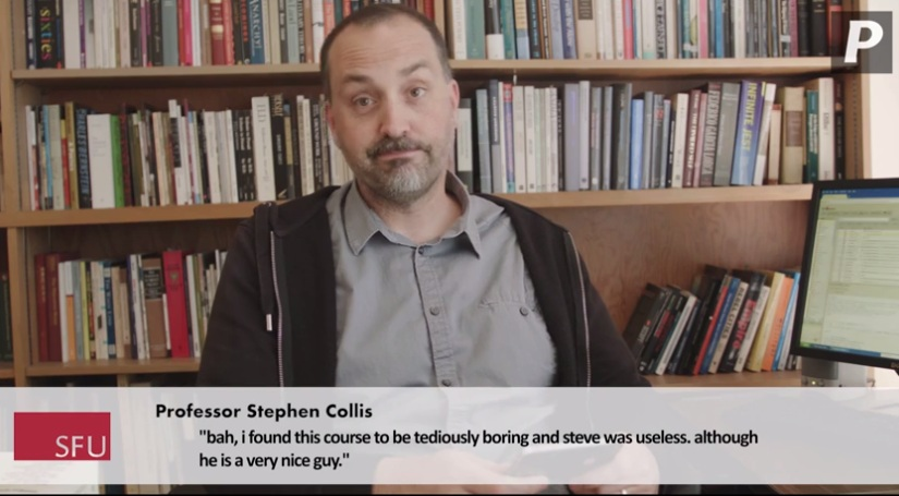 Watch: SFU professors read 'mean' student reviews, Jimmy Kimmel style - image