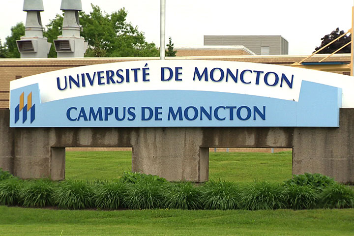 Université de Moncton campus.