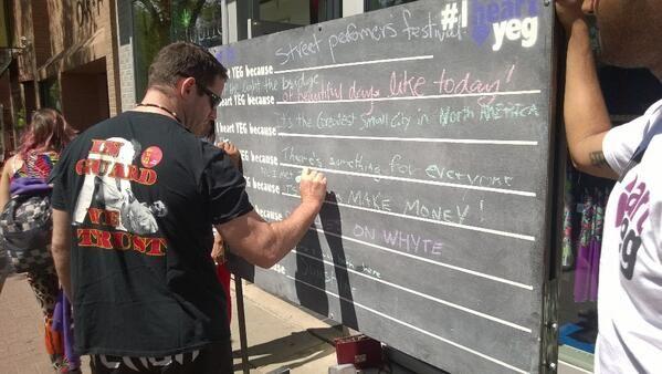 iheartyeg chalkboard.