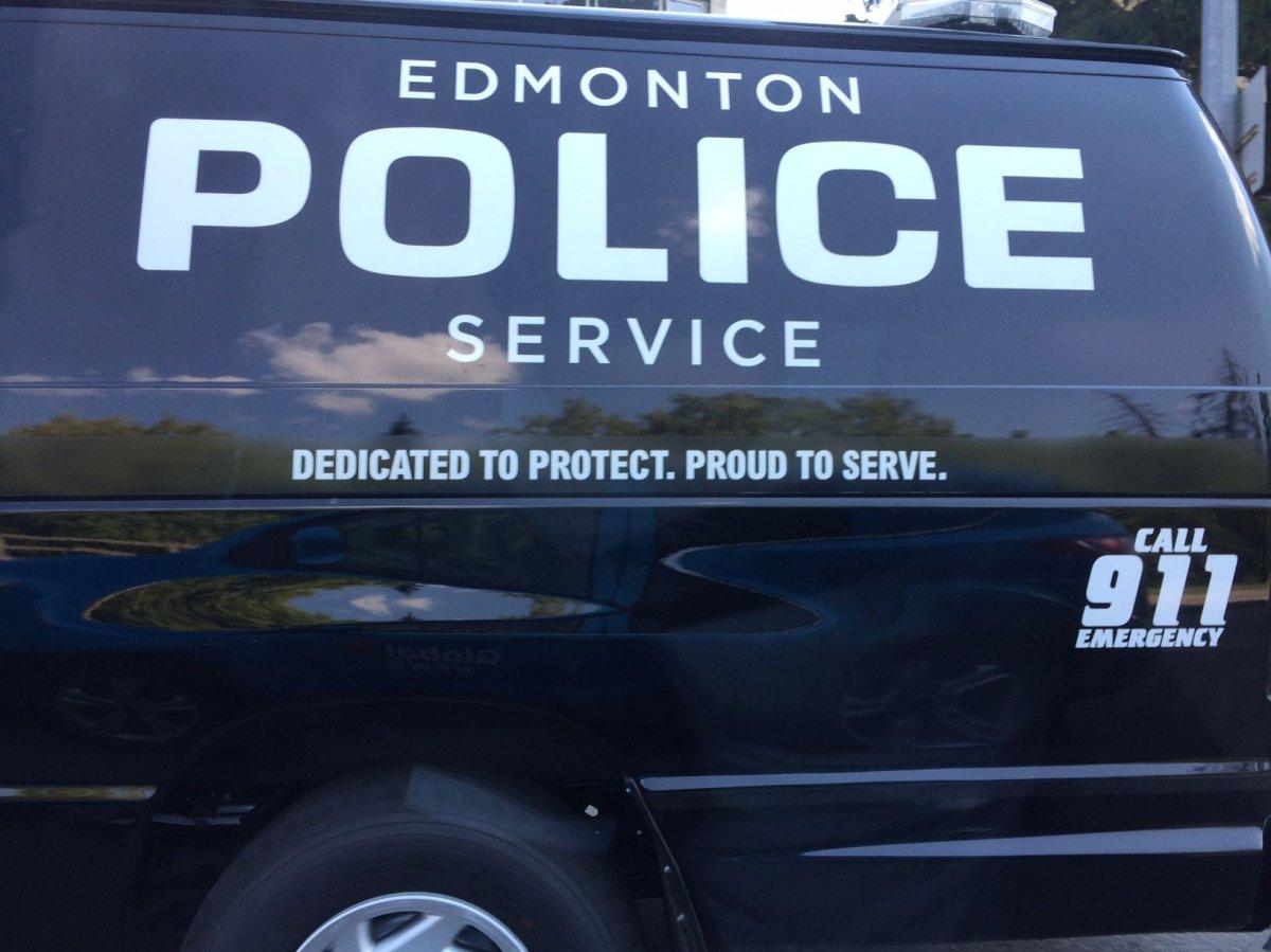 File photo of an Edmonton Police Service vehicle.