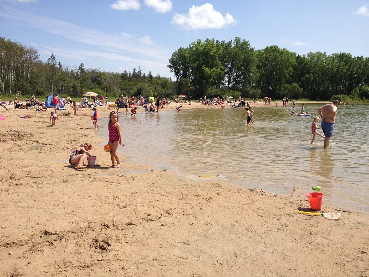Safety officers will be patrolling three Manitoba beaches amid COVID-19 this summer. Health officials reported no new cases of the virus in Manitoba Thursday.