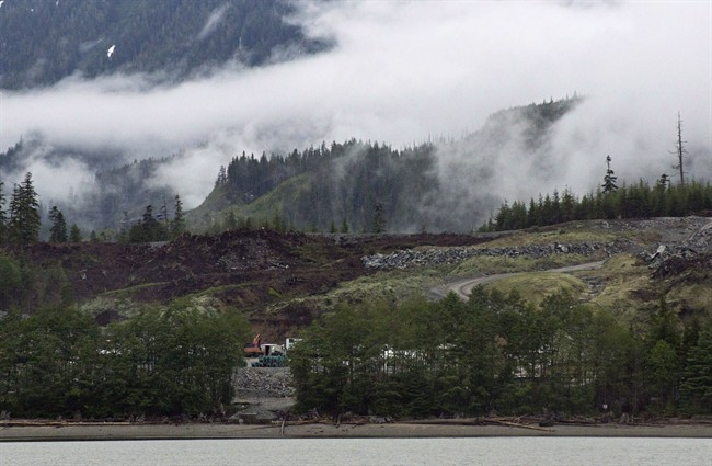 B.C Environment Minister George Heyman is downplaying a rift with the B.C. Green Party even though Green Leader Andrew Weaver is threatening topple the government because of LNG. Seen here is a LNG project in Kitimat, B.C.