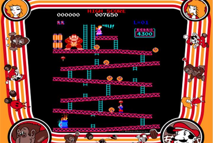 'Donkey Kong' hit arcades July 9, 1981.