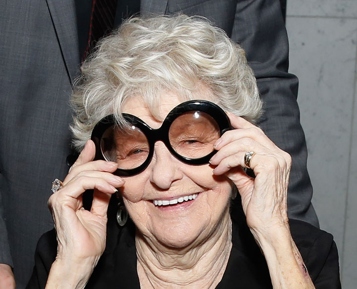 Elaine Stritch, pictured in February 2014.