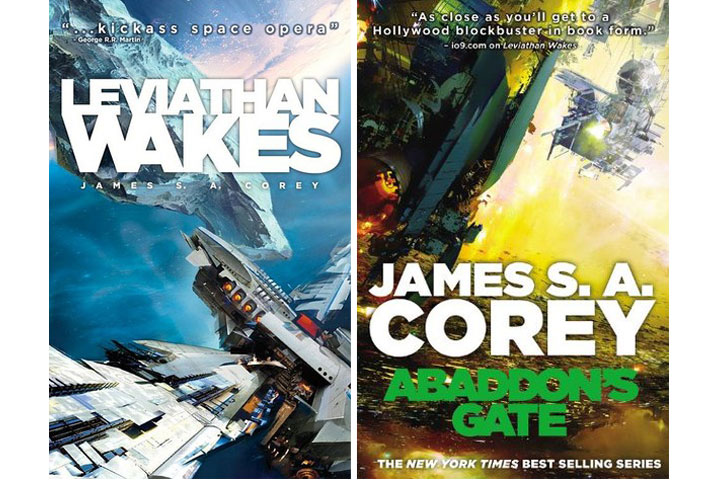 'The Expanse' is based on a series of books that include 'Leviathan Wakes' and 'Abaddon Gate'.