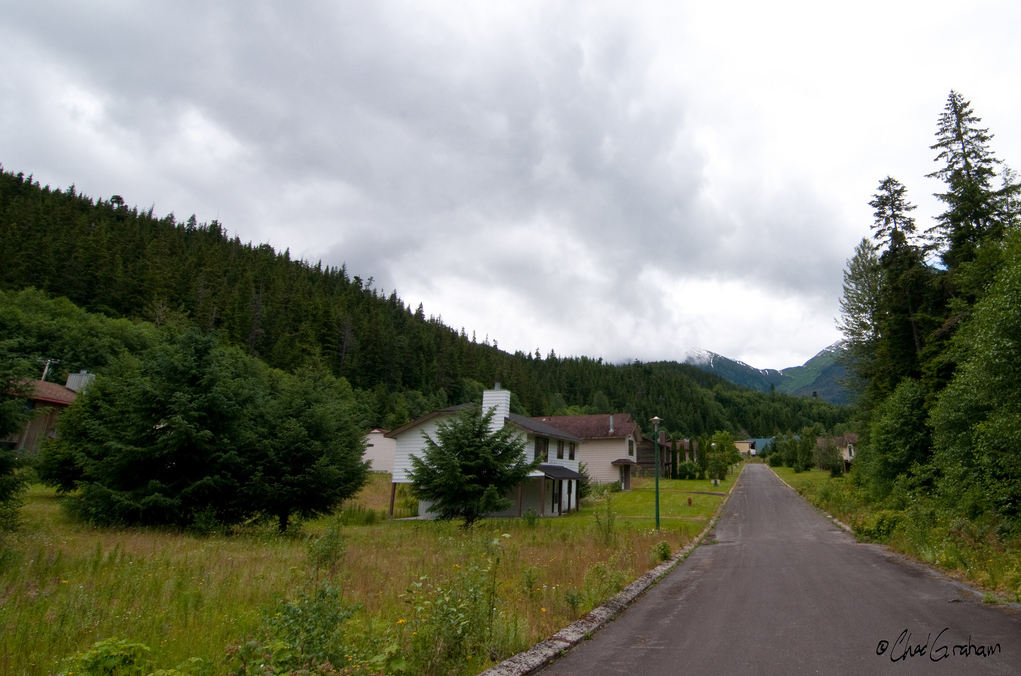 The homes and roads of Kitsault may be taken care of - but they've sat empty for over 30 years.