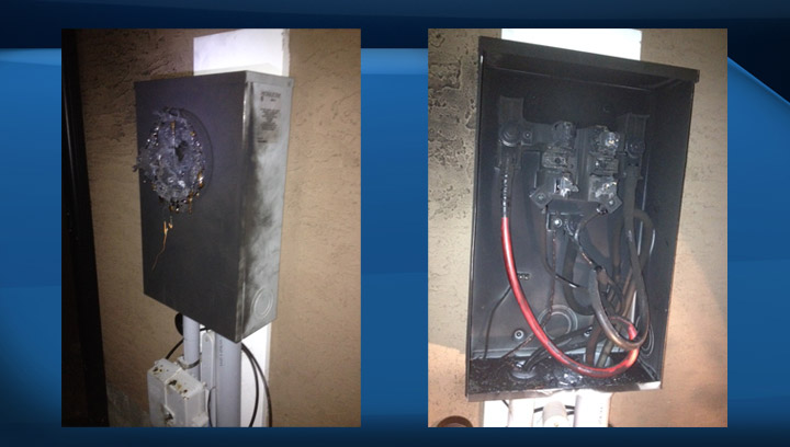 Homeowner calls on SaskPower to recall smart meters after one explodes at his home early Saturday morning.