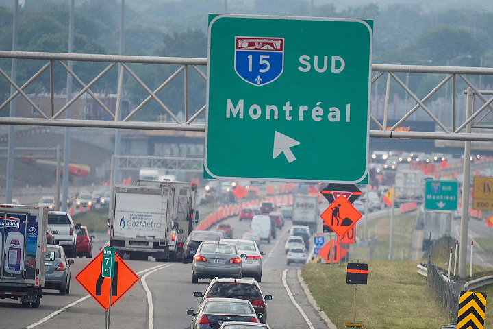 Stuck in Montreal or Toronto traffic? It could be worse.