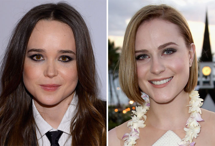 Ellen Page Evan Rachel Wood