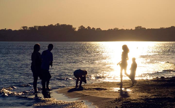 Port Stanley Main beach