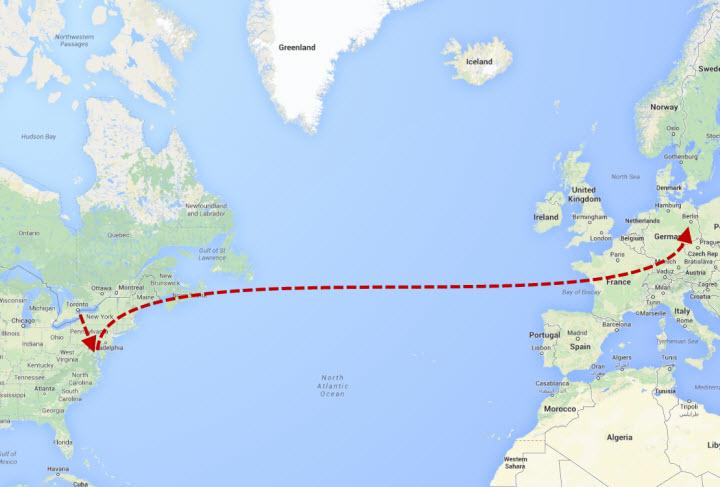 Toronto to Washington to Berlin