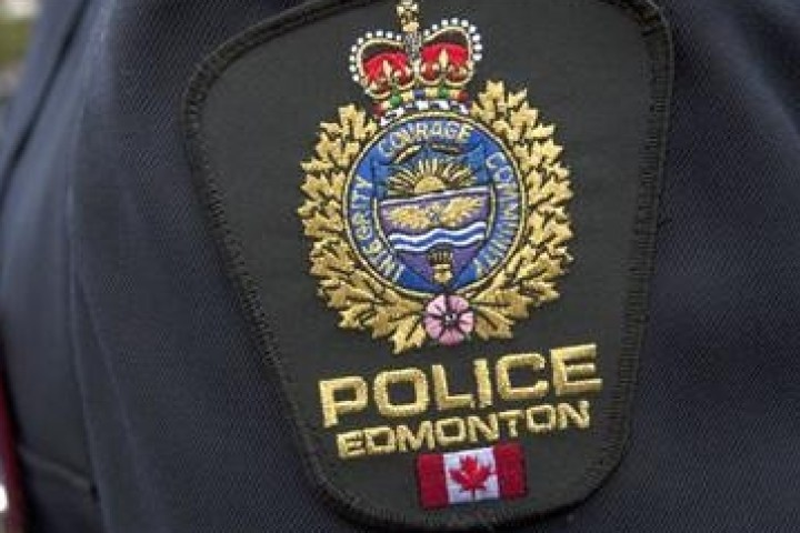 The badge of the Edmonton  Police Service.