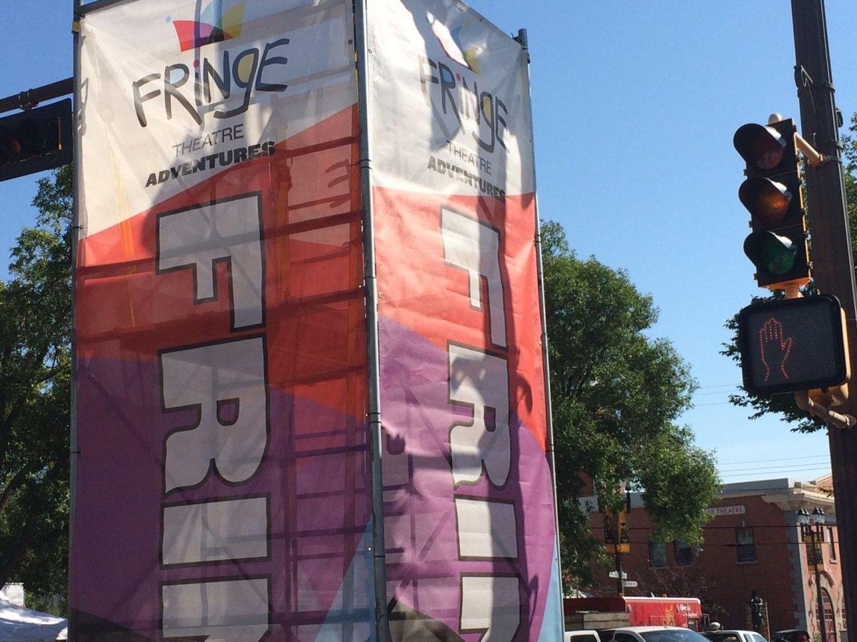 Edmonton Fringe Festival, August 13, 2014.