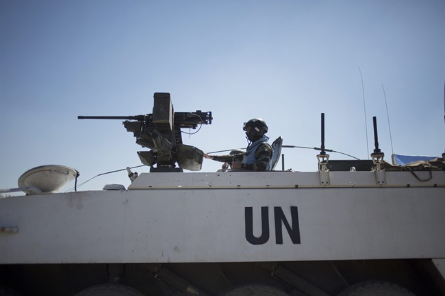 The latest UN figures show that Canada had just 43 peacekeepers deployed on missions at the end of December, down from 62 in November.