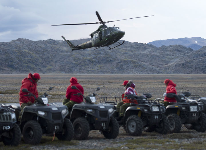 Canadian Rangers seek better equipment to deal with climate change