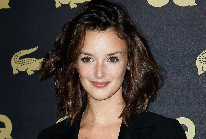 Charlotte Le Bon attends an event on January 16, 2013 in Paris, France.