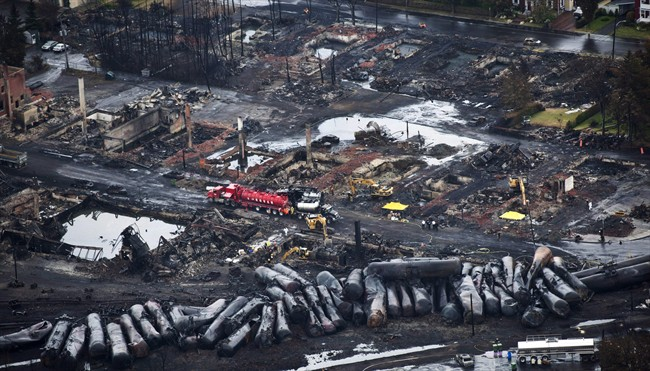 Quebec police investigating the Lac-Mégantic train disaster say they've visited the United States four times to seize documents and to interview witnesses - including railway chairman Ed Burkhardt.