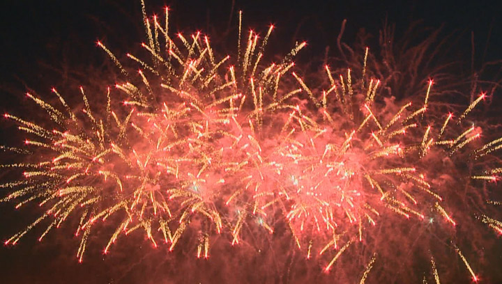 Traffic restrictions in place as the PotashCorp Fireworks Festival ready to dazzle Saskatoon's River Landing.