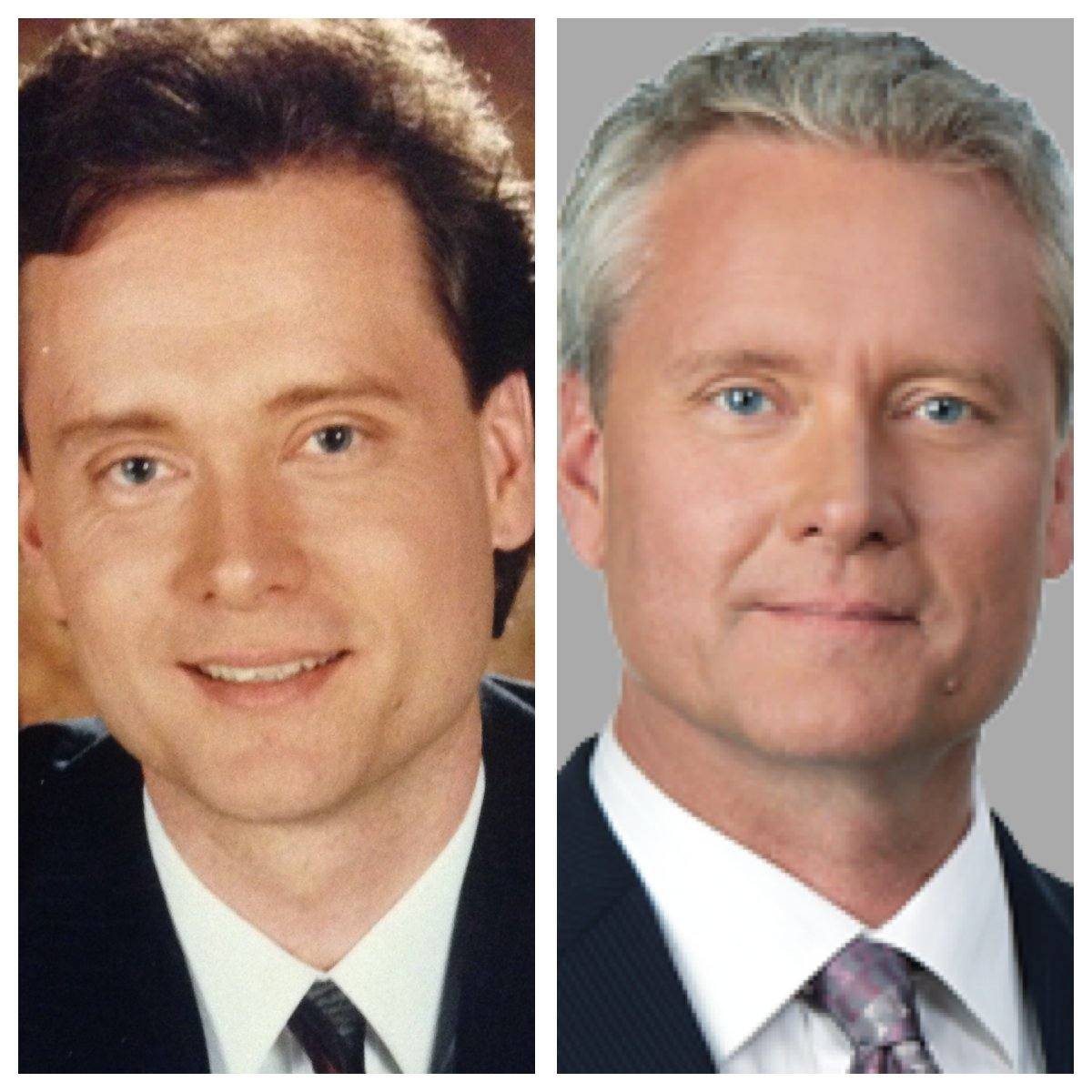 Gord Steinke then and now.