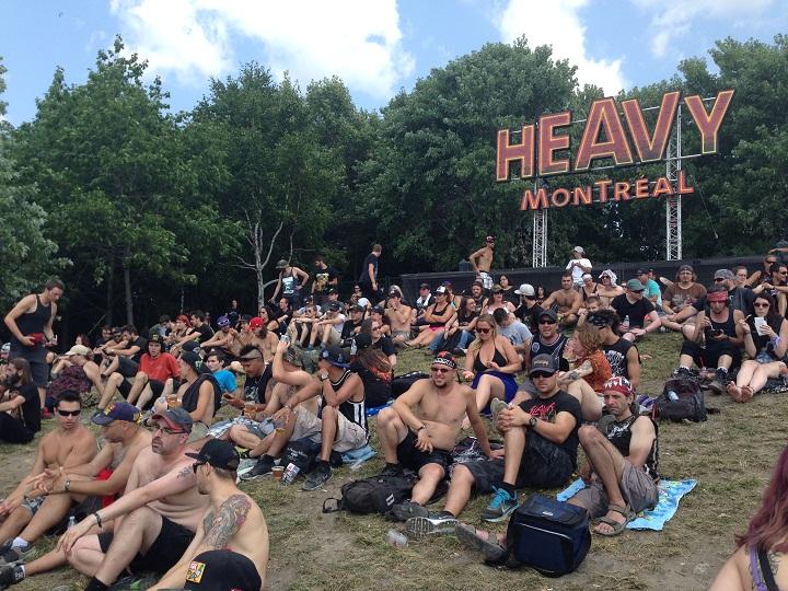 Heavy Montreal at Parc Jean-Drapeau, Sunday Aug. 10, 2014.