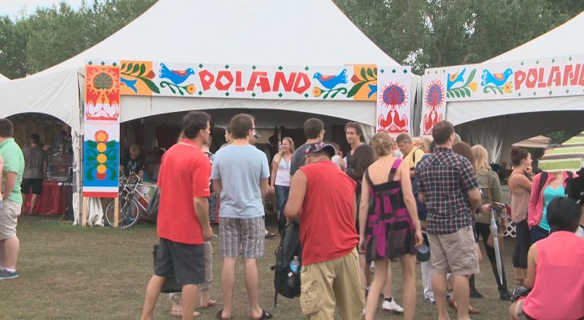 People filled the Servus Heritage Festival in nearly record numbers this year, Monday, August 4, 2014.