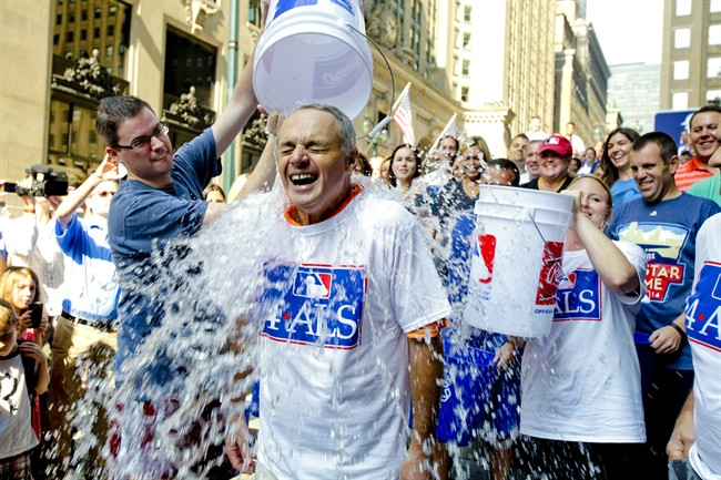 The Ice Bucket Challenge helped increase public awareness of ALS.
