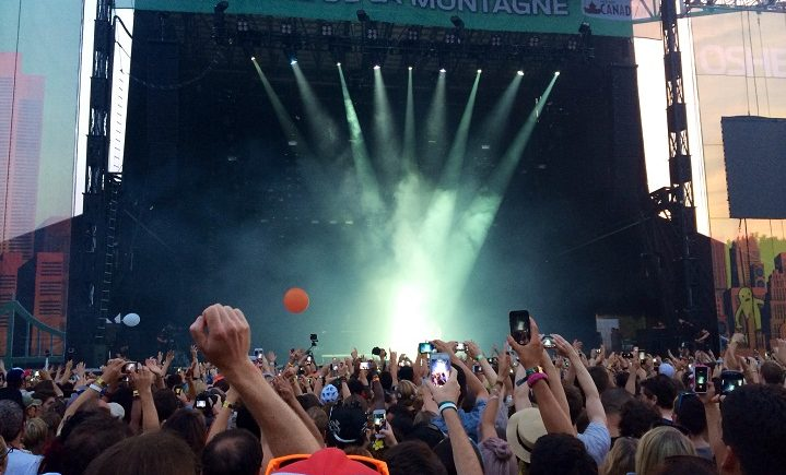 Security is tightened for festival-goers in Montreal.
