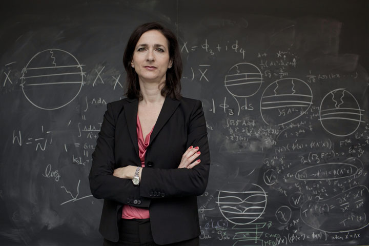 Massachusetts Institute of Technology professor Sara Seager is seen at the Perimeter Institute in Waterloo.