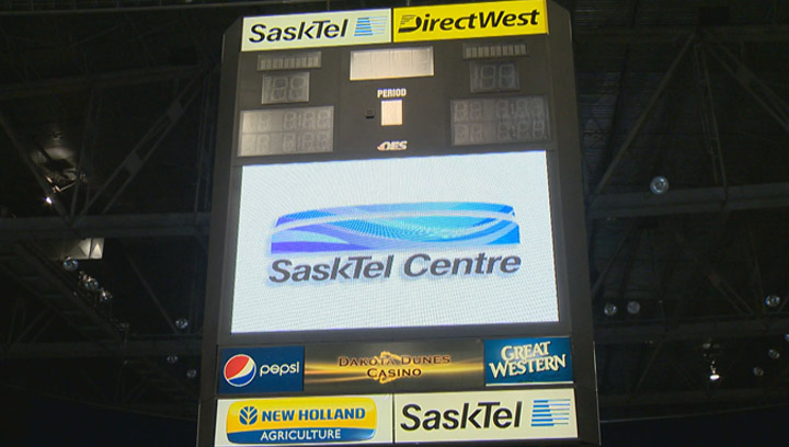 SaskTel secures naming rights for the next ten years at Credit Union Centre in Saskatoon.