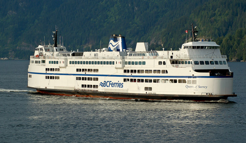 The Queen of Surrey crashed into a berth at the Langdale ferry terminal on Mar. 26, as a result of what BC Ferries is now calling 'procedural error'.