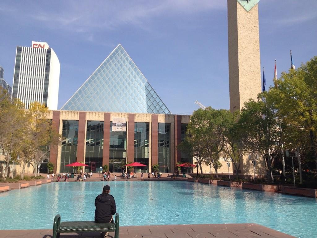 Edmonton City Hall - seen here on Sept. 17, 2014 .